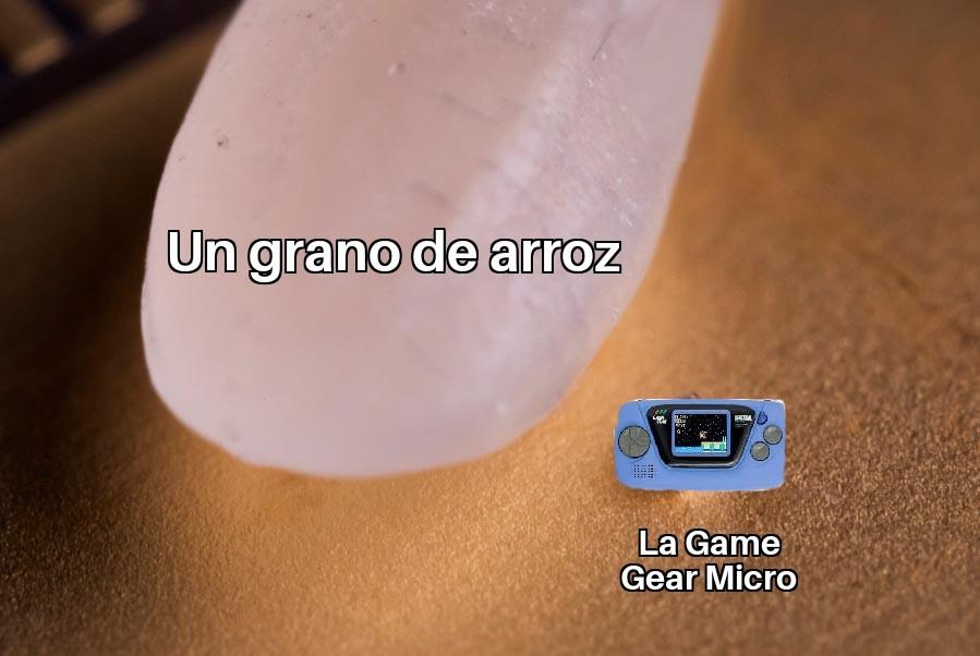 Re piola la Game Gear - meme