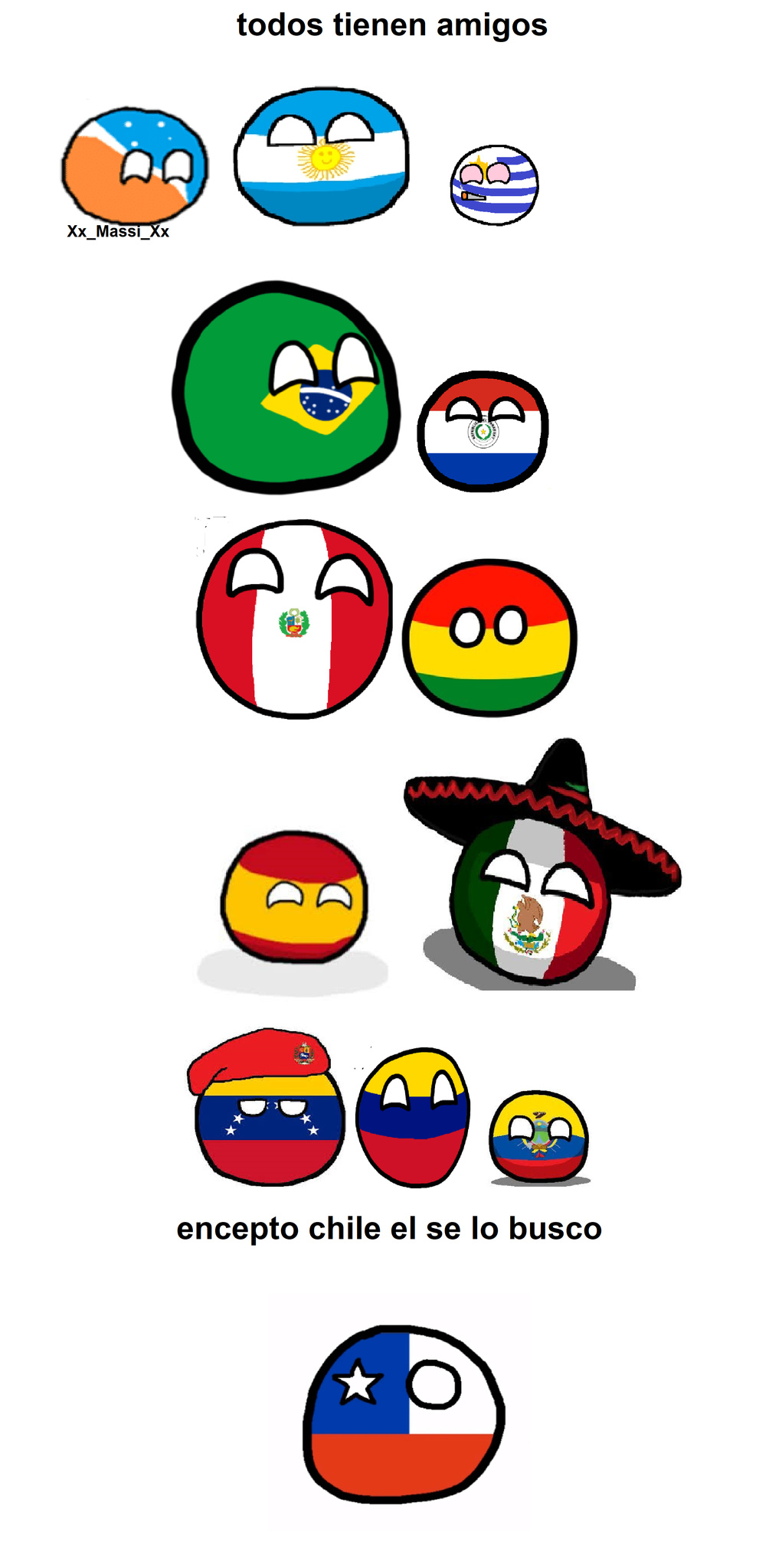 pobre chile :( - meme