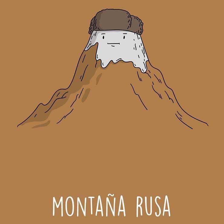 Montaña rusa - meme