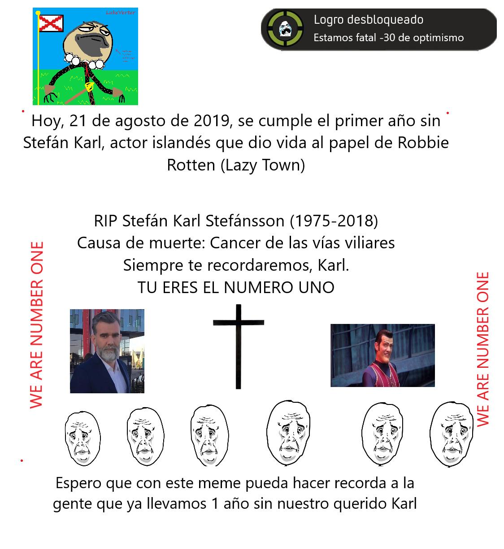 Karl Stefan (1975-2018) - meme