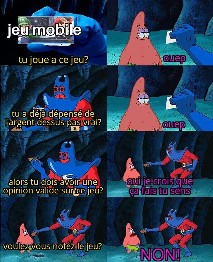 Tout les jeux mobile - meme