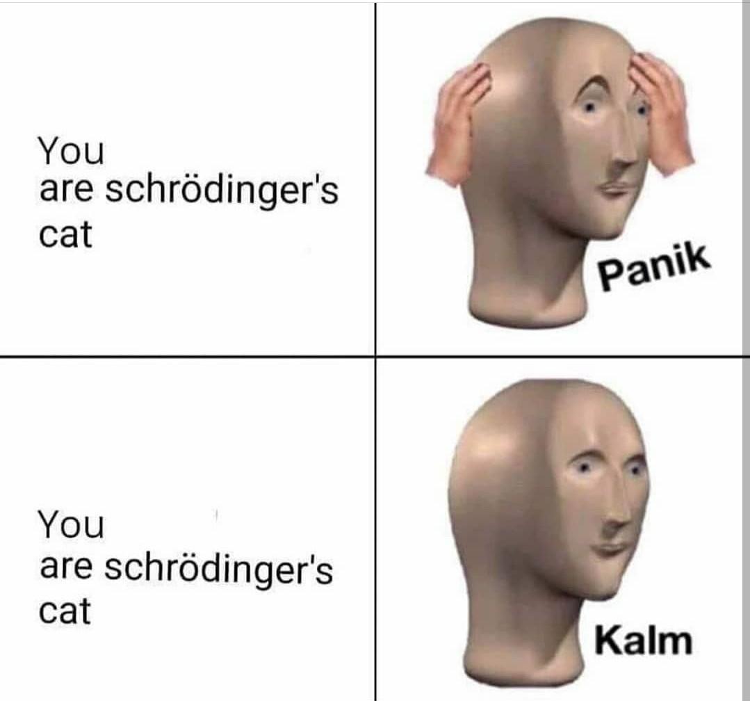 Merveille quantique - meme