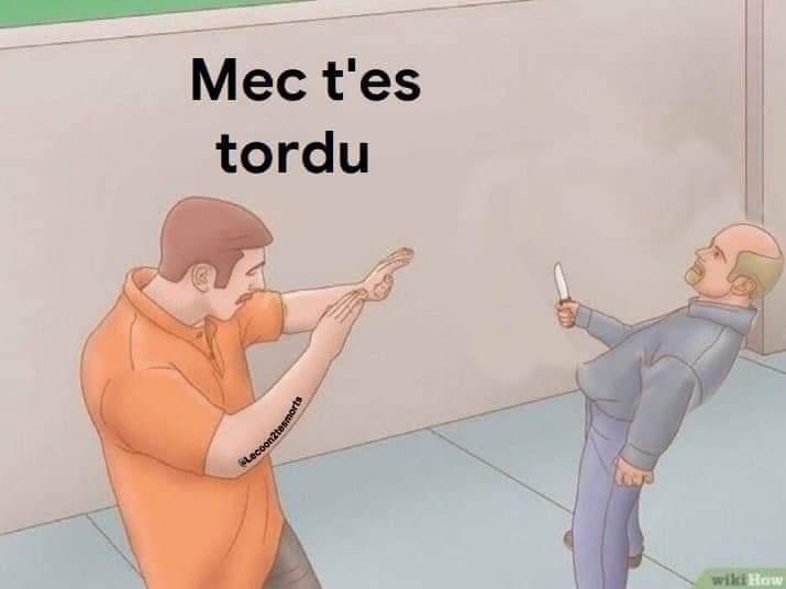 Combat et expression française - meme