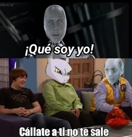 Mewtwo lo dijo primero - meme