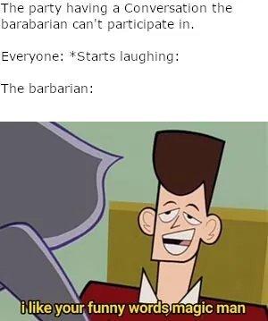 Funny words - meme