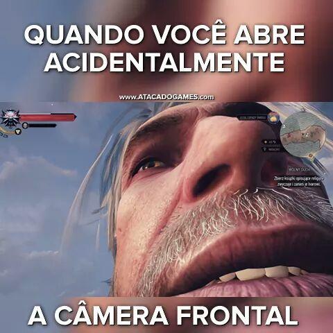 The Witcher 3 foda pra caralho - meme