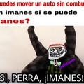 El auto con imanes :sweet: