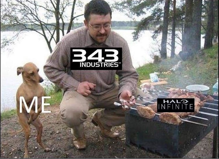 Please take your time 343. Don't rush it and have a disaster like 5. - meme