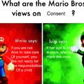 Mario vs Luigi opinion