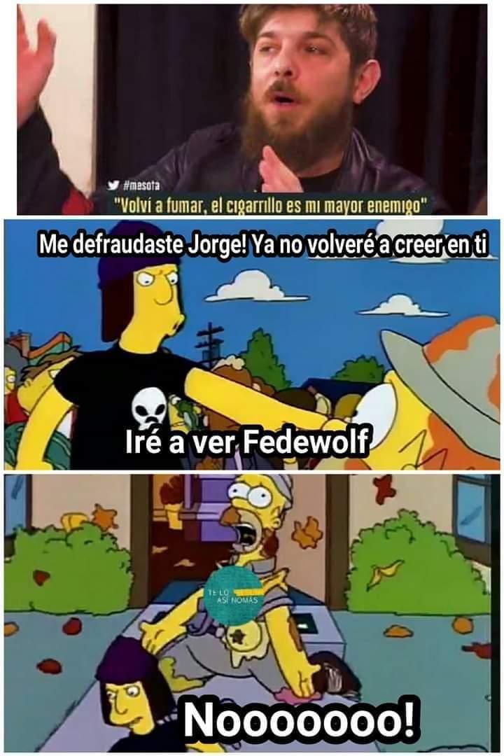 Me defraudaste Jorge - meme