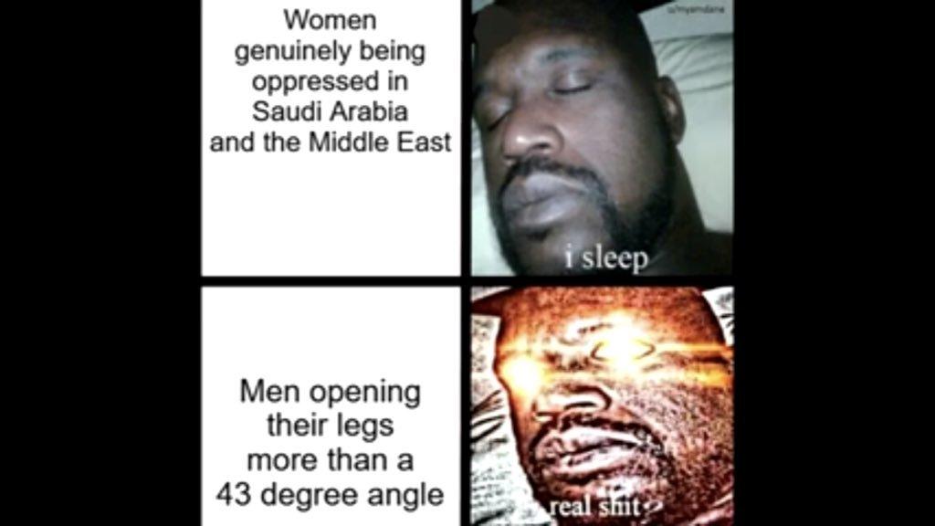 Essas femanizis - meme