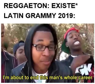 No reggaeton este año - meme
