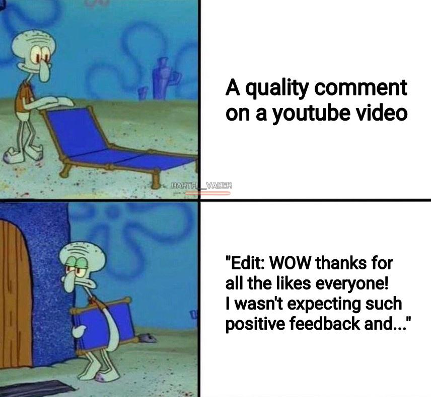 Just leave it be, people - meme