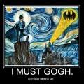 goghtam BATMAN starry