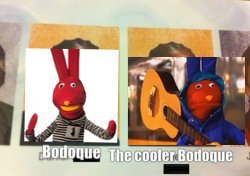 Bodoque vs bodoque 2 - meme