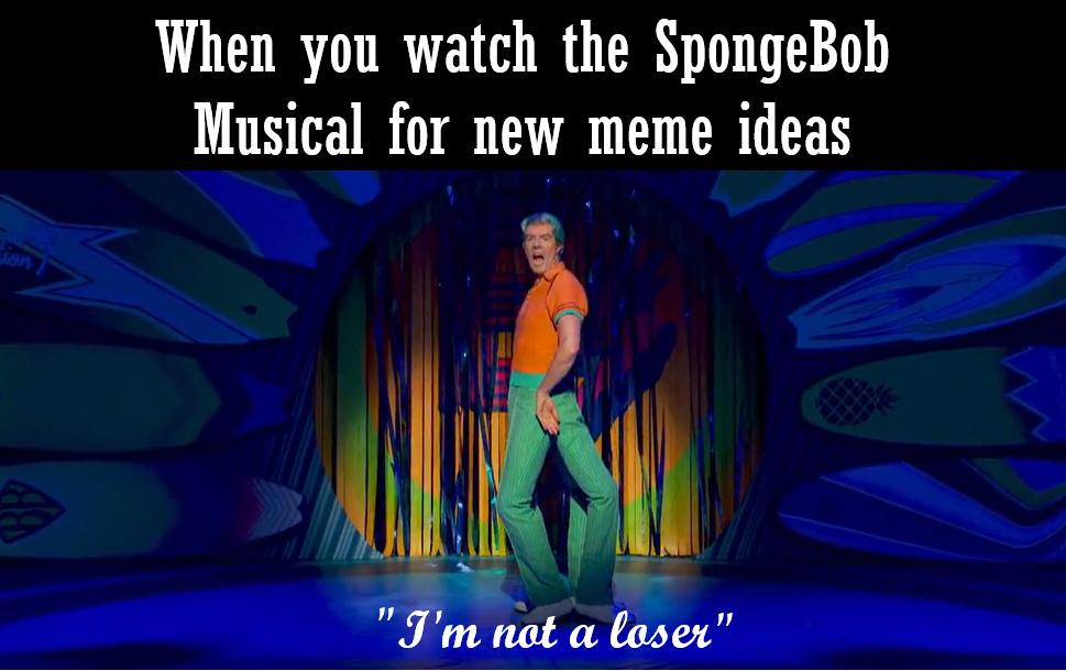 I'm not! - meme
