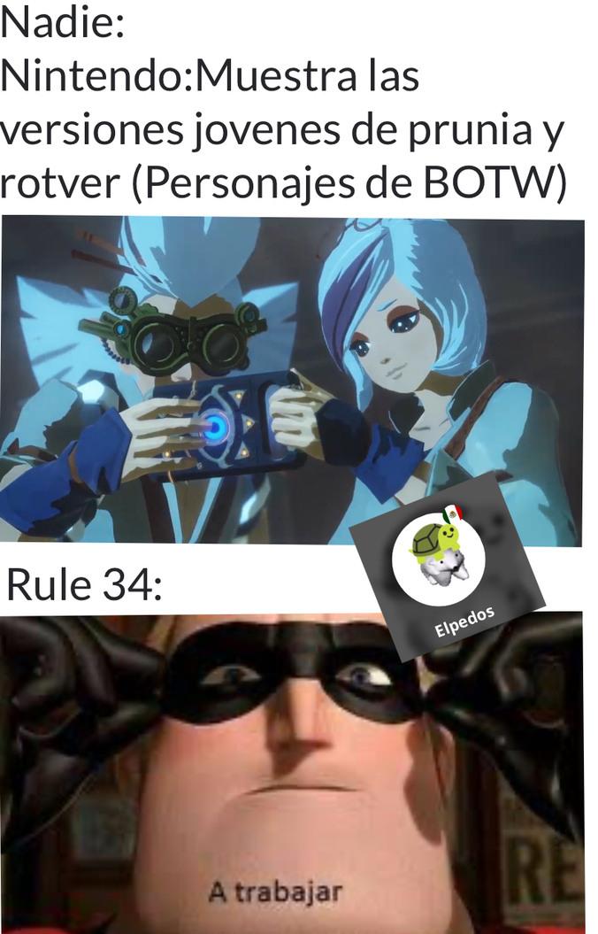 El esfuerzo del gobierno no se compara con los creadores de contenido de la regla 34 - meme