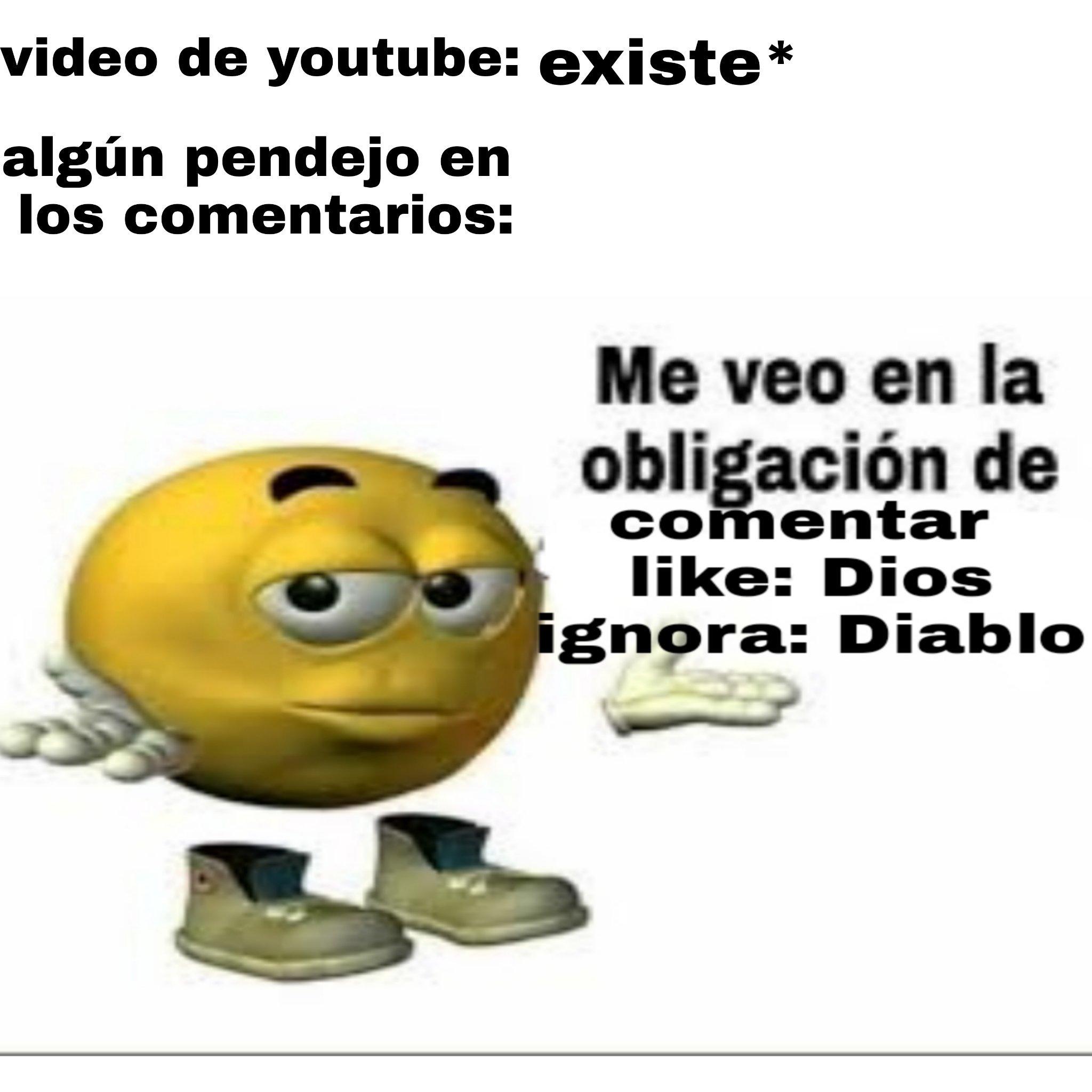 Y los muy qleros están en prácticamente todos los videos - meme