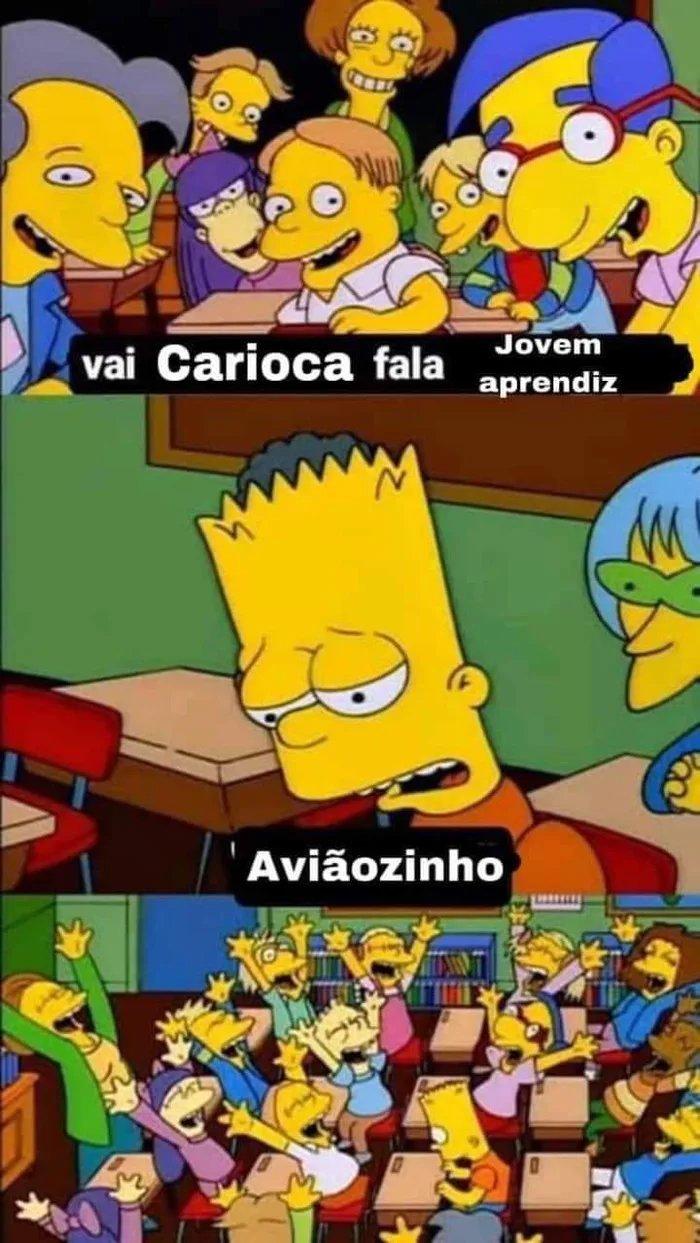 Primeiro emprego dos cariocas - meme
