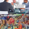 I am sick of coworkers stabbing in the ass