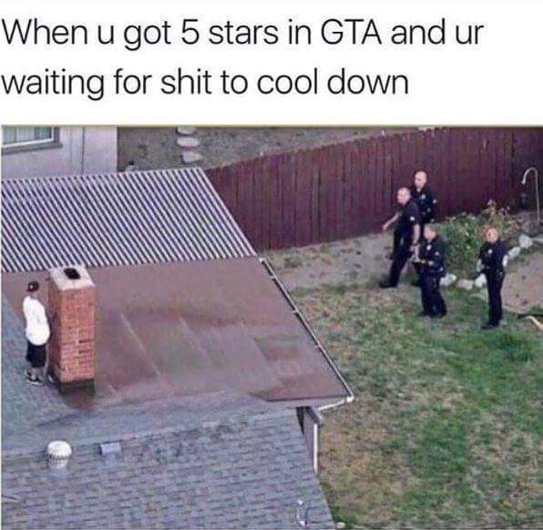 GTA 5 be like. - meme