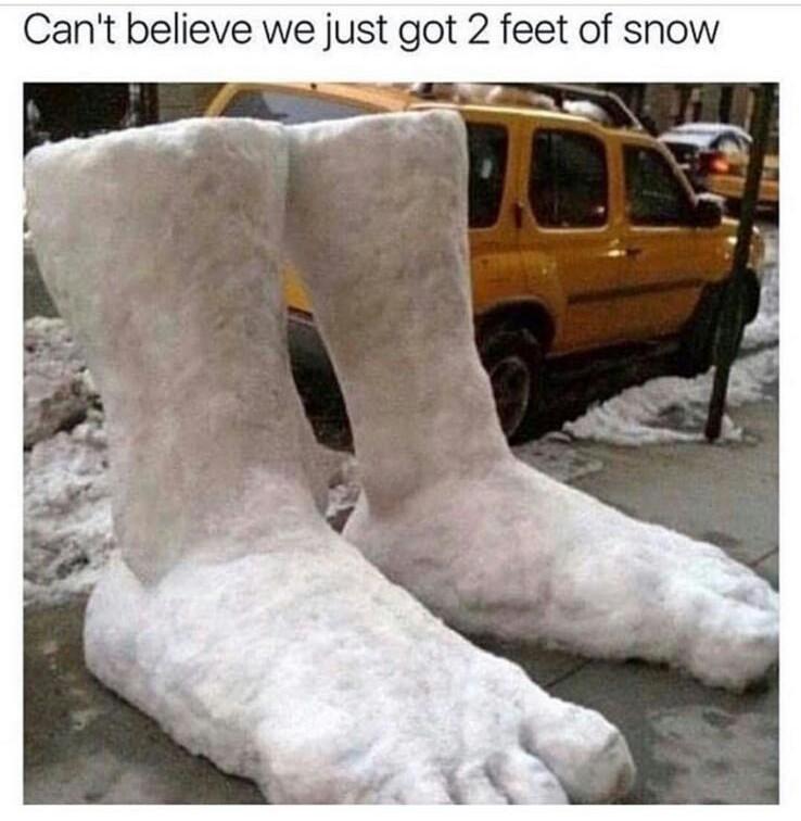 xD snow - meme