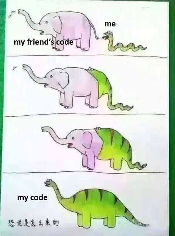Coding classes - meme
