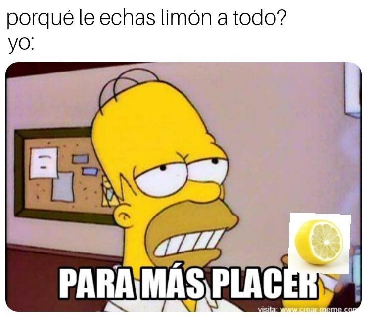 Limón ,'0 - meme