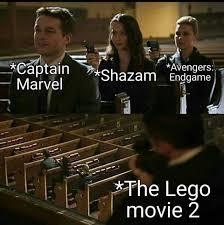 Lego movie 2 was wack - meme