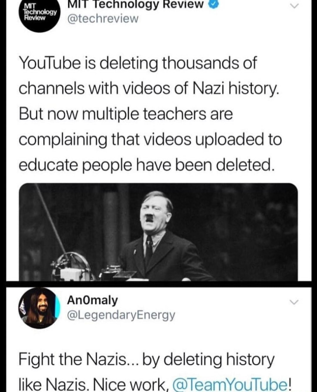 YouTube needs a competitor fast, otherwise they're gonna become total liberal prickd - meme