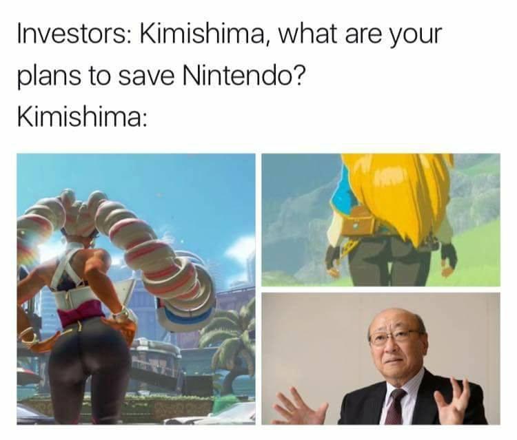 NINTENDO LIVES - meme