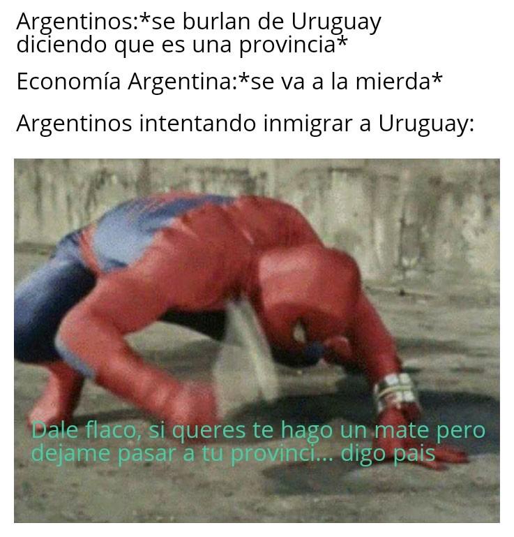 Pobre peronistán - meme