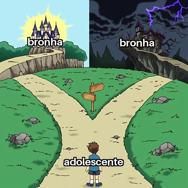 Adolescente original - meme