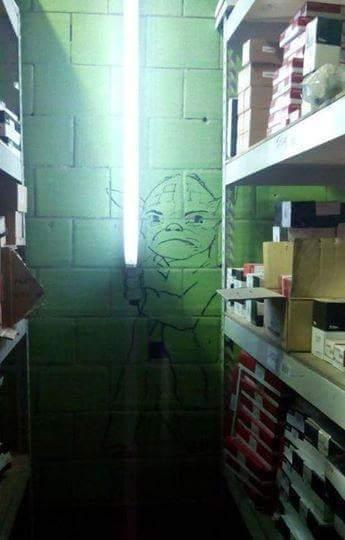 Yoda en la vida real - meme