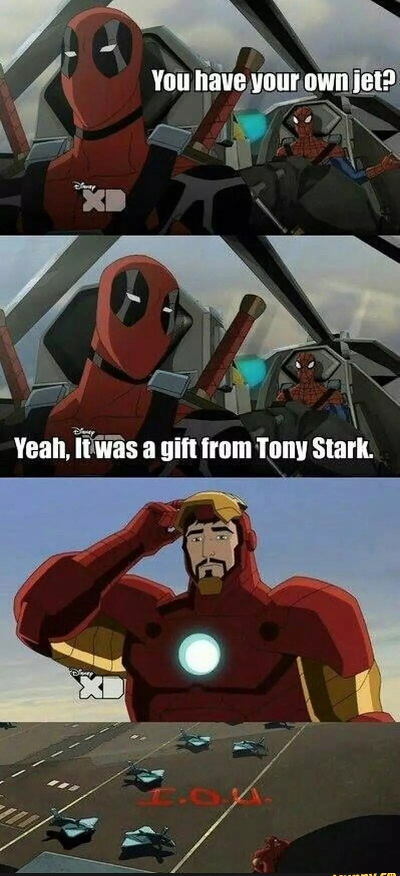 IOU TONY - meme