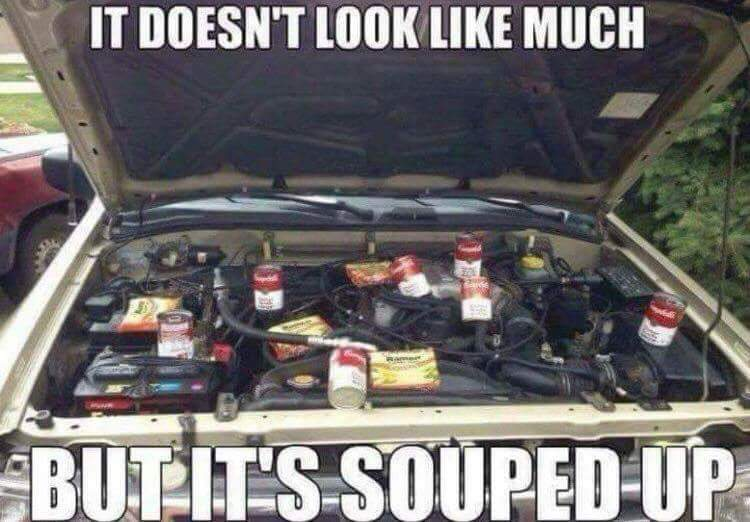 2000 Brake Soup Power. - meme