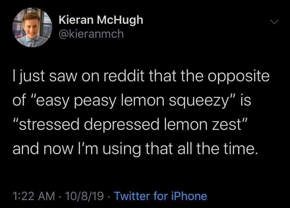 Lemon Zesty - meme