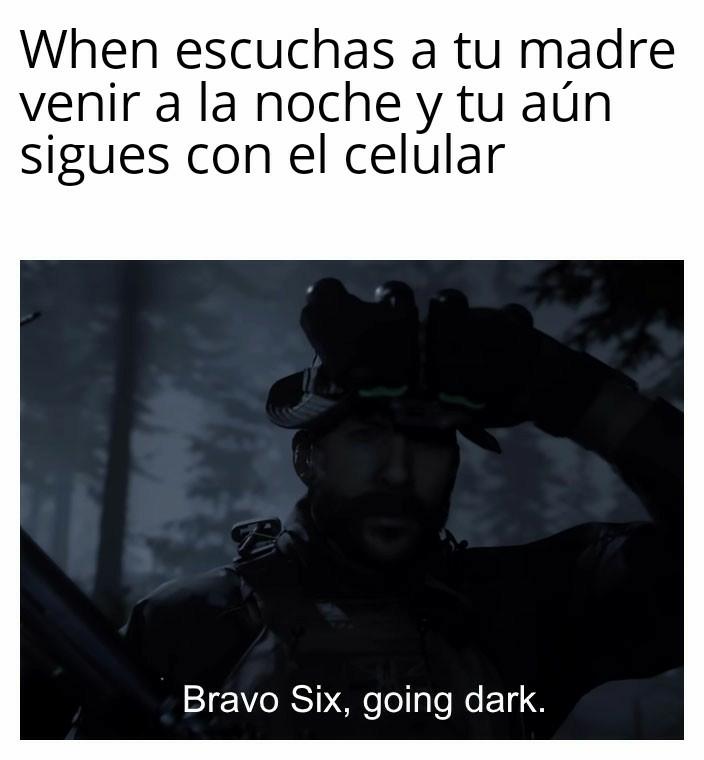 Bravo Six, Going Dark - meme