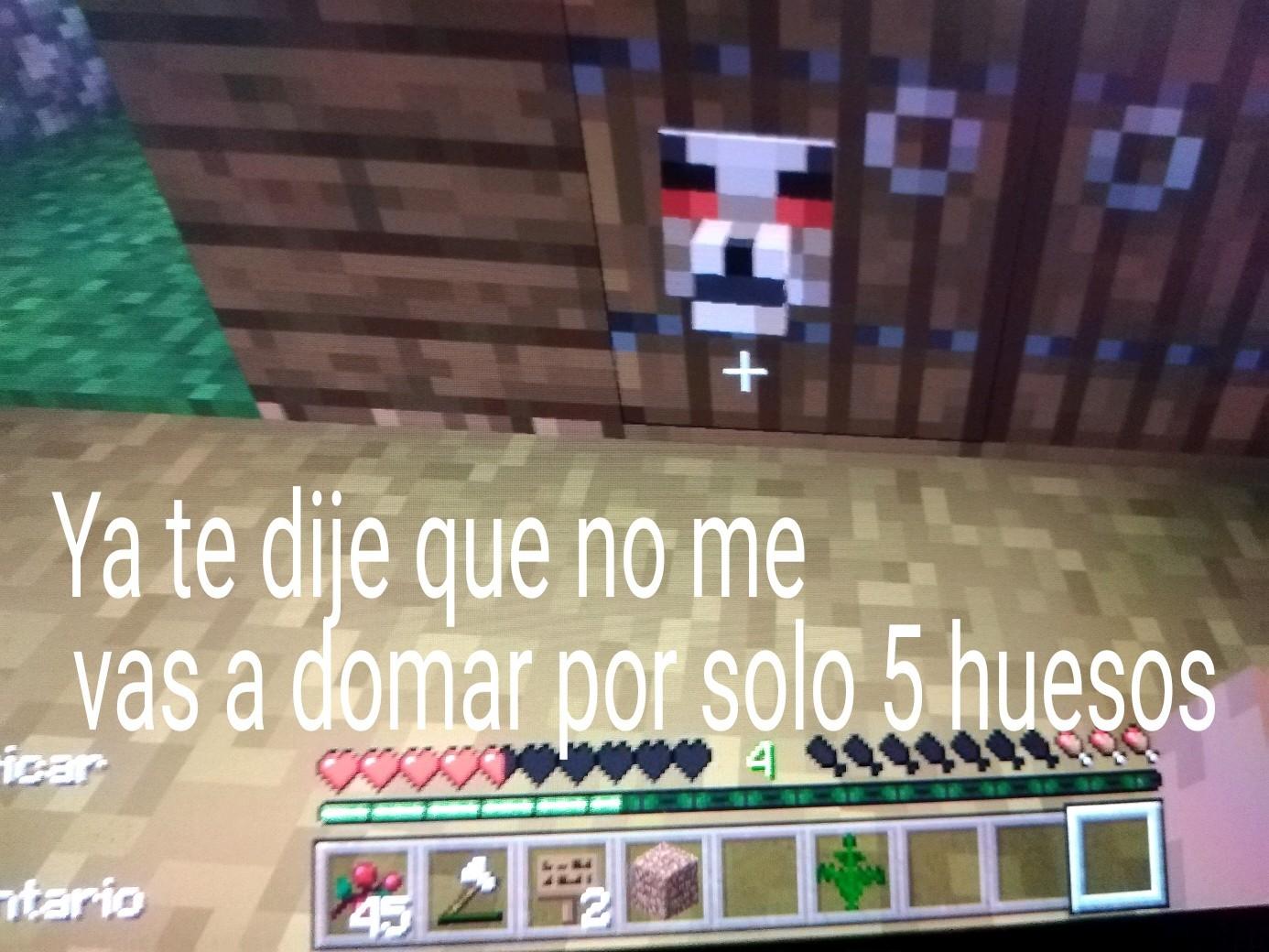 Pinche lobo quiere 10 huesos de los venezolanos - meme