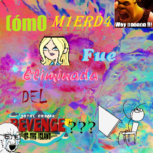 Drama total la venganza de la isla - meme