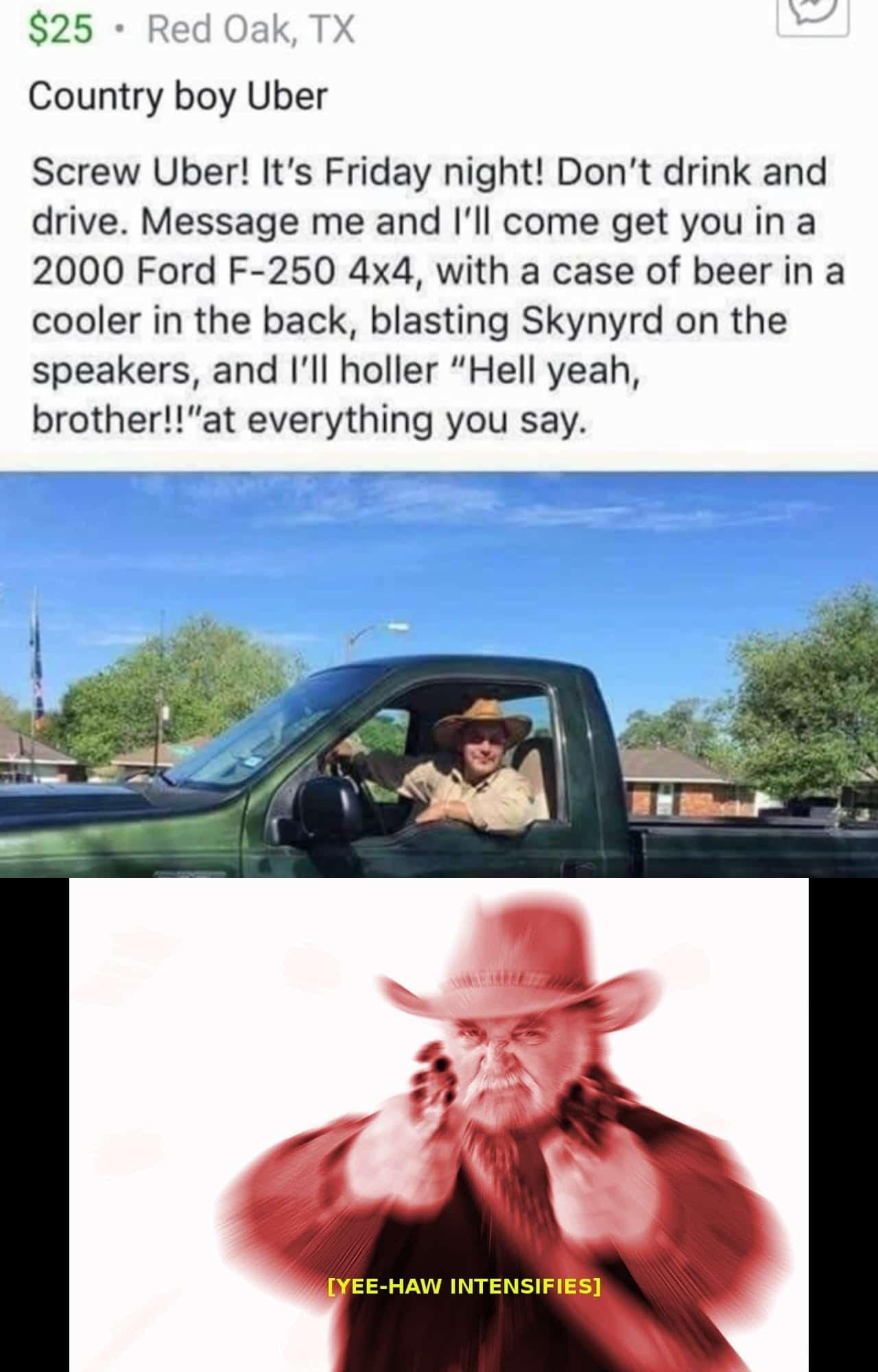 Good guy country - meme