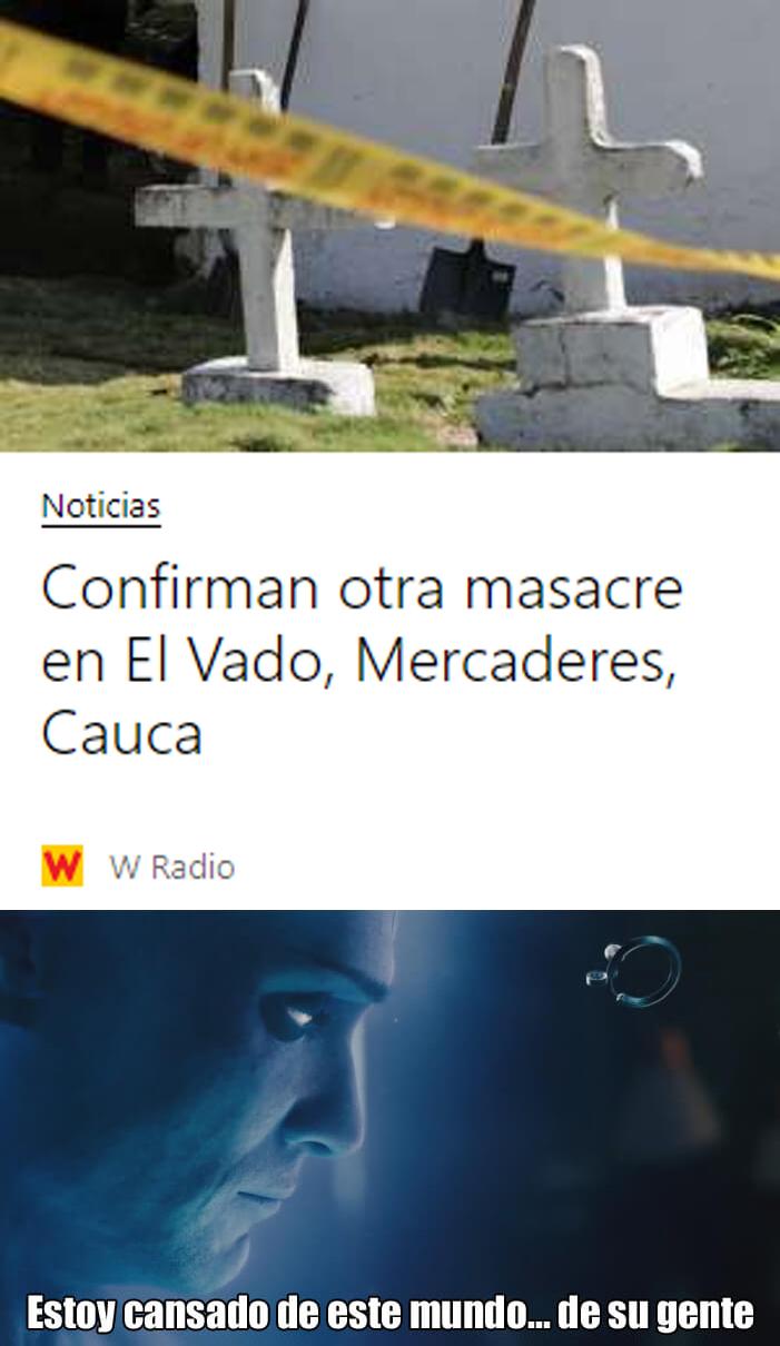 9/20 *MÁS MASACRES* - meme