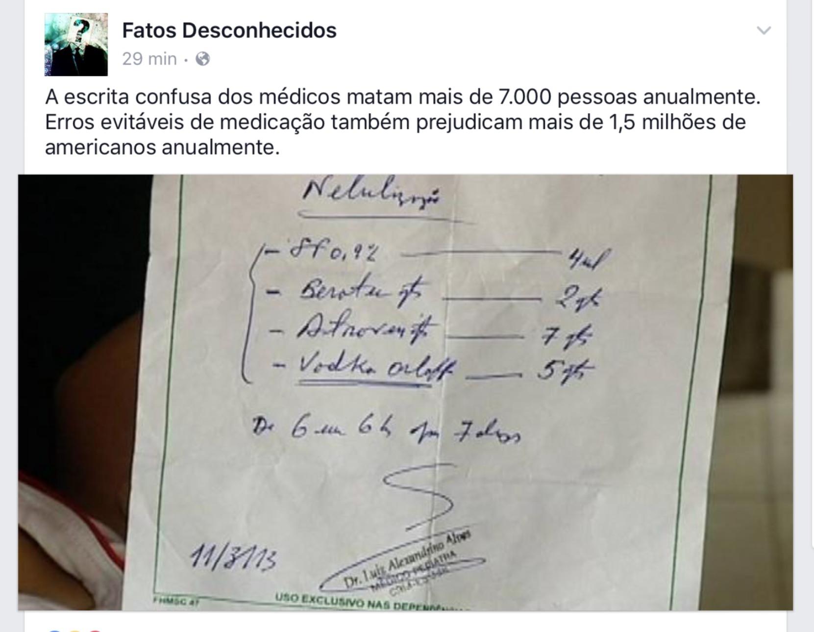 médicos e suas escritas..  1 like uma conta a mais do GaabrielP - meme