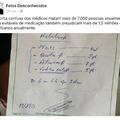 médicos e suas escritas..  1 like uma conta a mais do GaabrielP