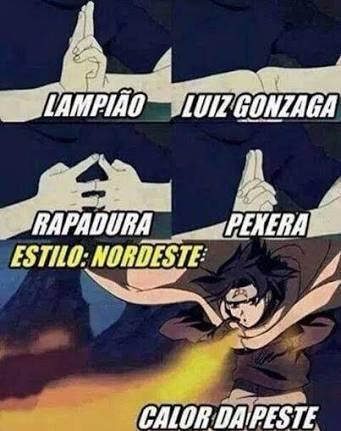 Jutsus Brasileiros - meme