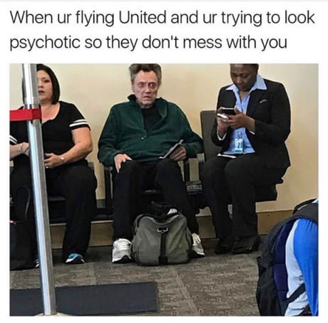 Doesn't blink the whole flight....