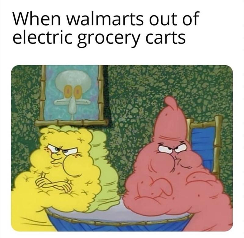 Wal-Mart problems - meme