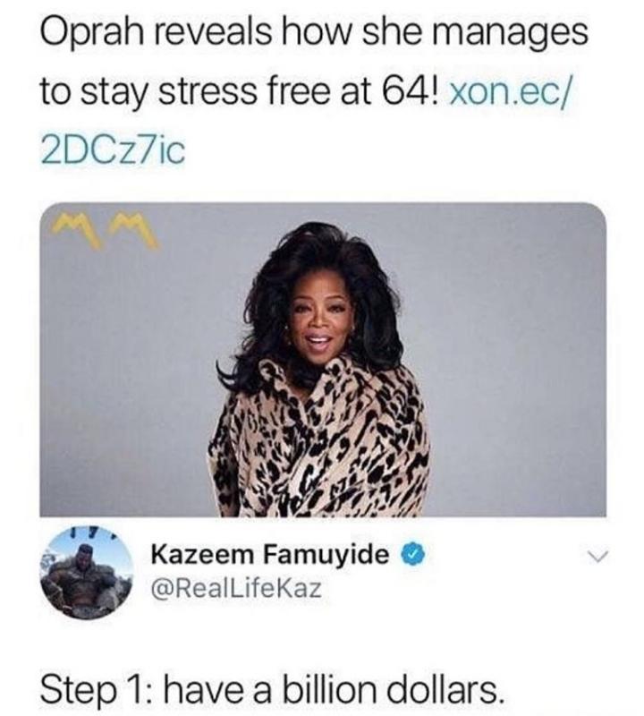 Stress free! - meme