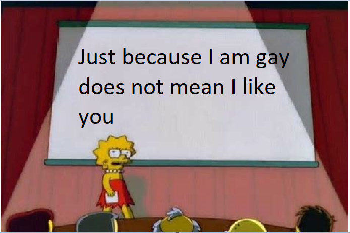 Homosexual - meme