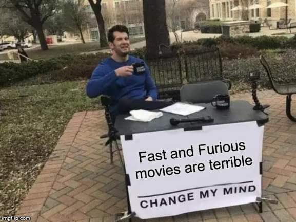 Those movies are shit - meme